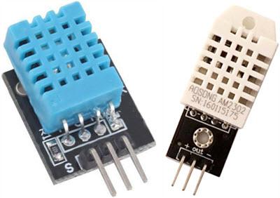 DHT-11-DHT-22-Humidity-Sensor