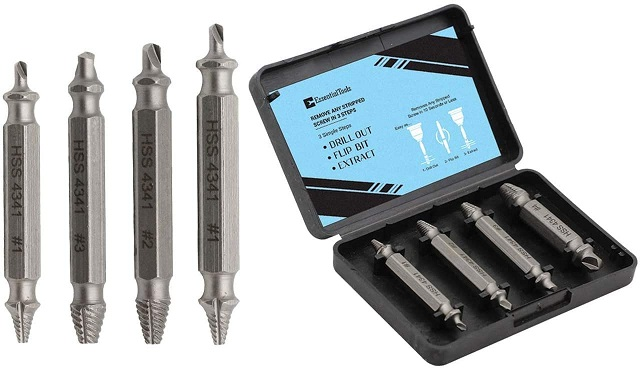 Easyout Damaged Screw Extractor Set