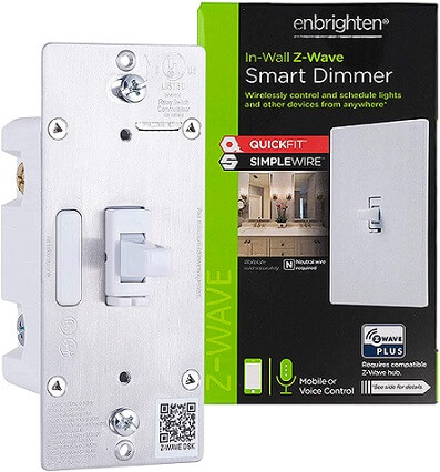 Enbrighten Z-Wave Plus Smart Light Dimmer Switch