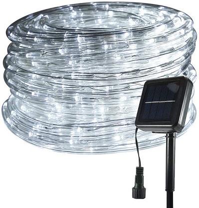 FUNIAO LED Solar Rope Lights