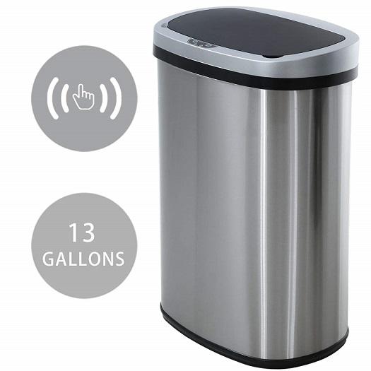 HCB Metal Garbage Can