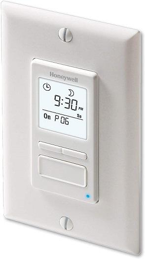 Honeywell Programmable Light Switch Timer