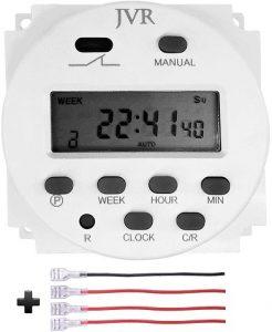 JVR 12V Timer Switch Programmable Digital