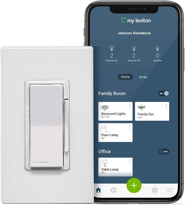 Leviton DW6HD-1BZ Decora Smart Wi-Fi