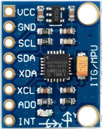 MPU-6050-Acceleremeter-Module