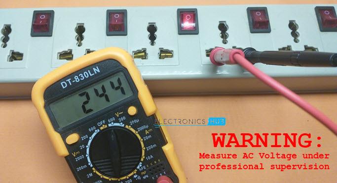 Measure-AC-Voltage-240V