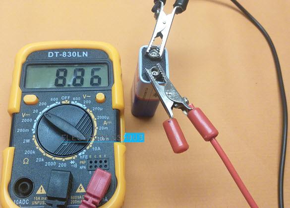Measure-DC-Voltage-9V-Battery