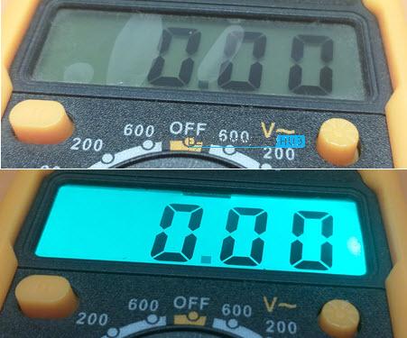 Multimeter-LCD-Backlight
