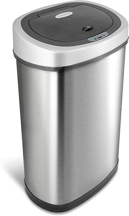 NINESTARS Motion Sensor Trash Can