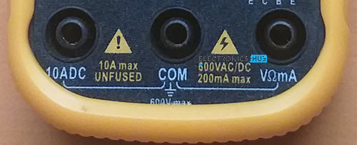Ports-of-a-Multimeter