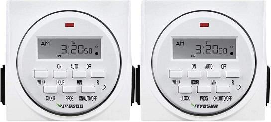 VIVOSUN Programmable Digital Timer Switch