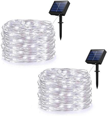 Weepong Solar String Lights