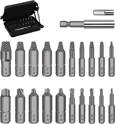 Werkzeug Damaged Screw Extractor Set