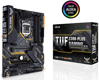 ASUS TUF Z390-Plus LGA1151 Gaming Motherboard