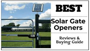 Best Solar Gate Openers