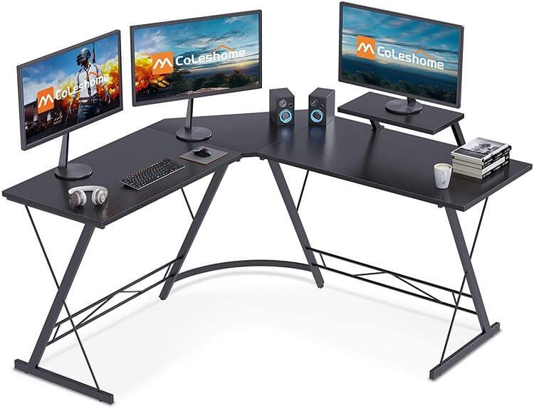 Coleshome L Shaped Desk