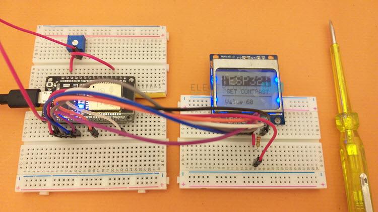 ESP32-Nokia-LCD-Set-Contrast
