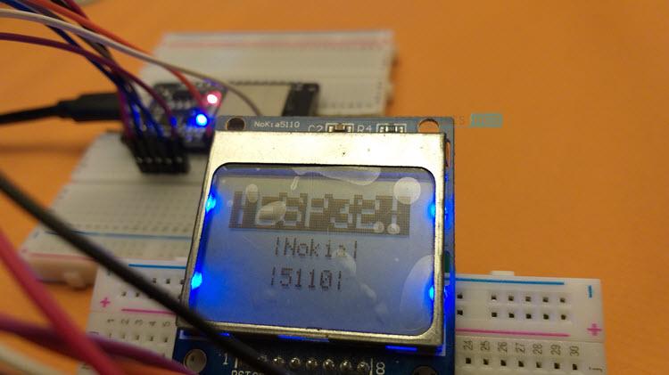 ESP32-Nokia-LCD