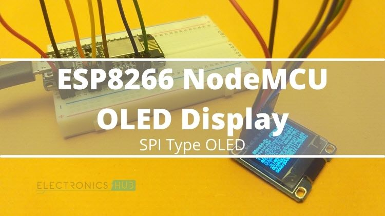 ESP8666-NodeMCU-OLED-Display-Circuit
