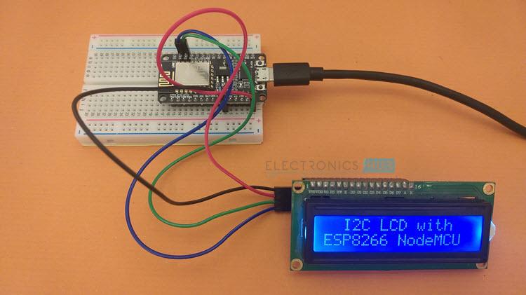 ESP8666-NodeMCU-I2C-LCD-Text