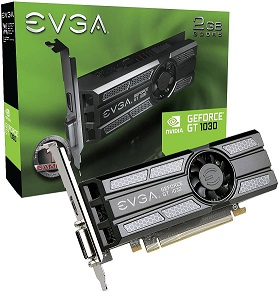 EVGA GeForce GT 1030 SC 2GB GDDR5 Graphics Card
