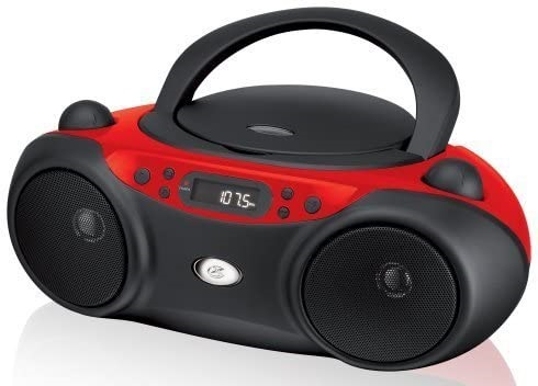 GPX Portable Top-Loading CD Boombox