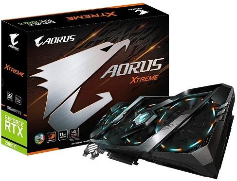 Gigabyte AORUS GeForce RTX 2080 Graphics Card