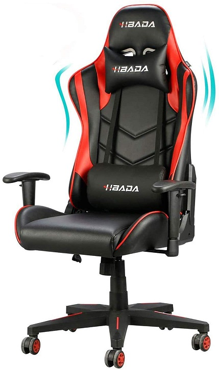 Hbada Gaming Chair Racing High Back Chair