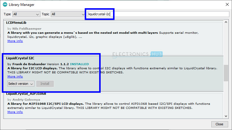 I2C-LCD-ESP32-Arduino-IDE-2