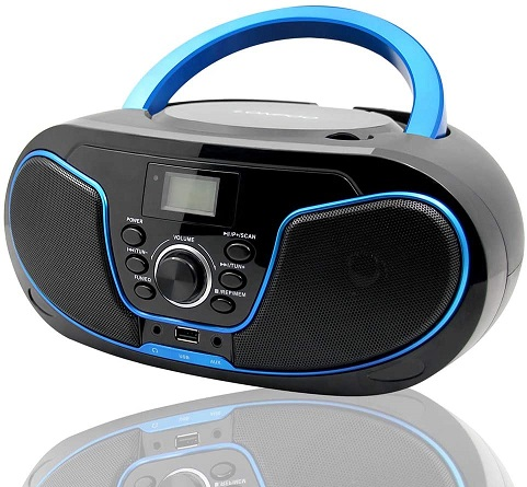 LONPOO Stereo CD Boombox