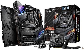 MSI MEG Z490 Motherboard