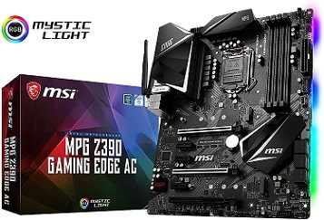 MSI MPG Z390 AC LGA1151 Gaming Motherboard