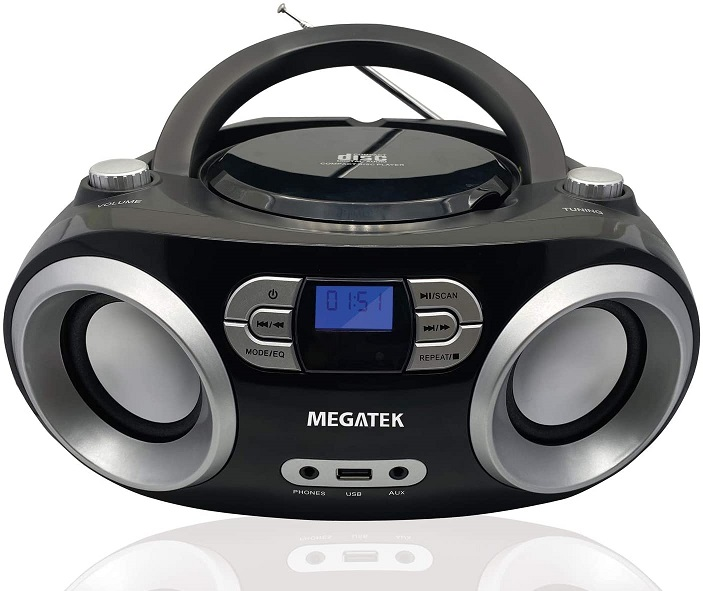 Megatek CD Player Boombox