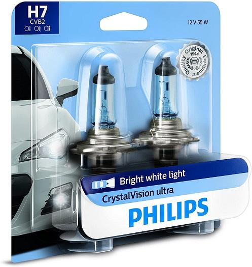 Philips H7 CrystalVision Headlight Bulb