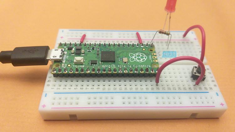 Raspberry-Pi-Pico-Button