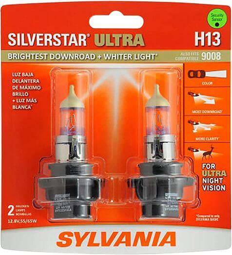 SYLVANIA - H13 SilverStar Ultra Headlight Bulb