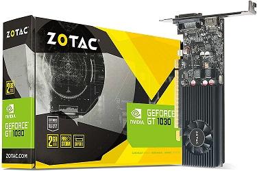 ZOTAC GeForce GT 1030 2GB GDDR5 Graphics Card