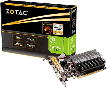 ZOTAC GeForce GT 730 Zone Edition 4GB DDR3 Graphics Card