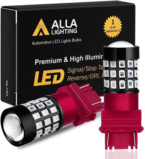 Alla Lighting 3156 3157 Red LED Lights