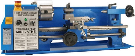 Erie Tools 7 x 14 inch Metal Lathe