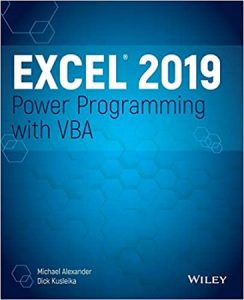 Excel 2019 Power Programming with VBA (1)