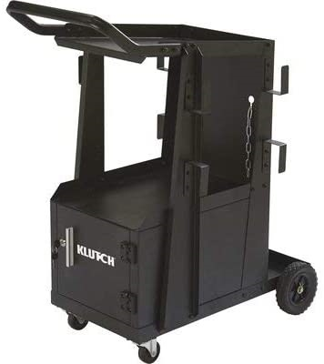Klutch 2-Tier Welding Cart