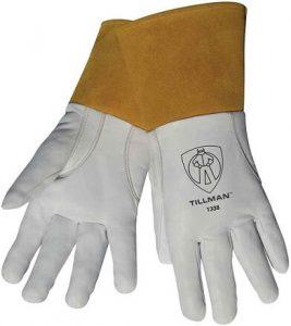 Tillman 1338 Grain Goatskin Welding Gloves