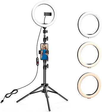 """Anbes 10.2"""" Ring Light"""