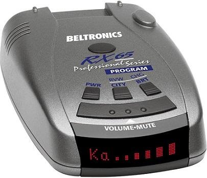 Beltronics RX65-Red Radar Detector