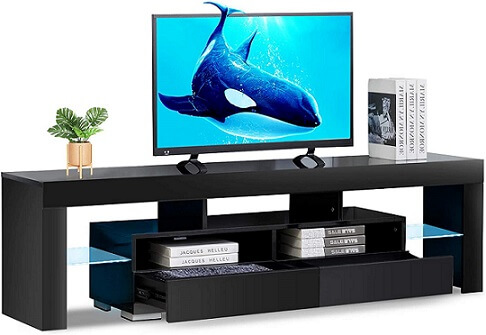 Bonzy TV Stand with LED Lights