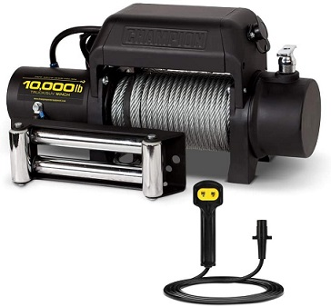 Champion 10000 lbs Truck/SUV Winch