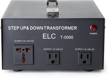 ELC T-5000 Voltage Converter Transformer
