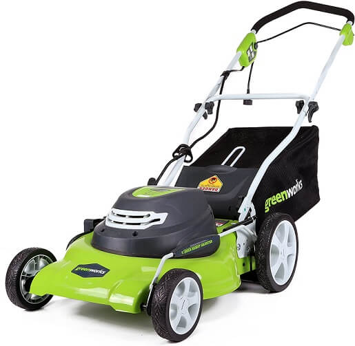 Greenworks Electric Corded Lawn Mower