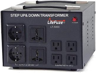 LiteFuze Voltage Converter Transformer
